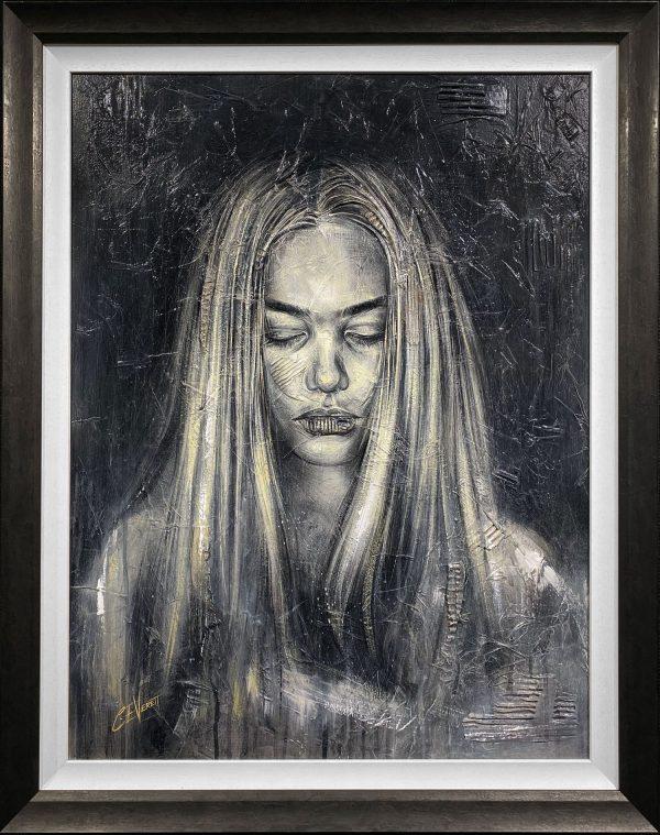 Craig Everett Contemplation 3D Original Painting for Sale