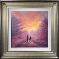 Danny Abrahams Original Painting All is Well