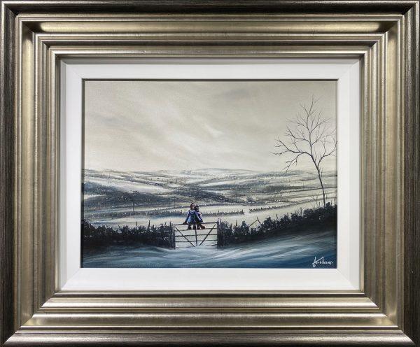 Danny Abrahams Original Painting Happy Just Because