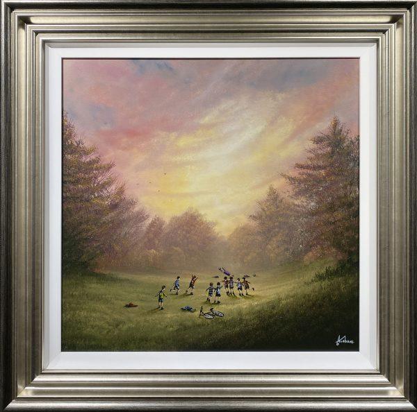 Danny Abrahams Original Painting Its a Drubbin