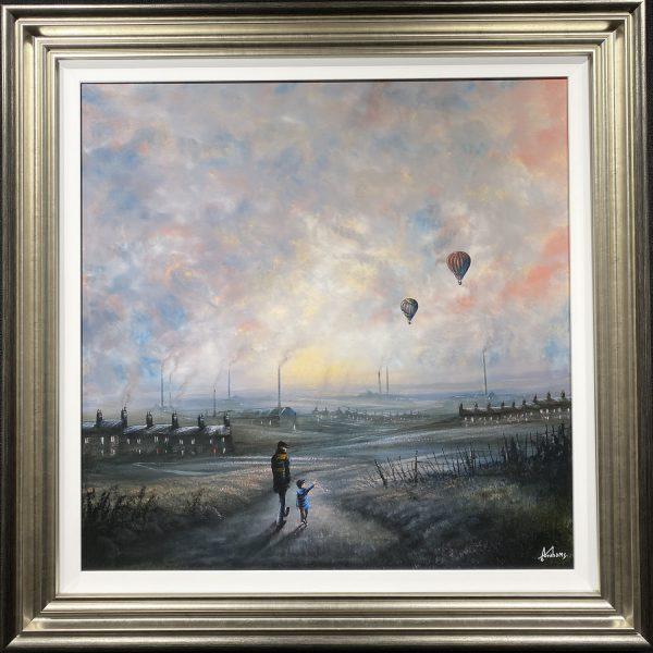 Danny Abrahams Original Painting Northern Tales