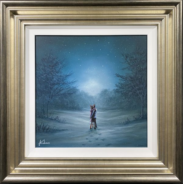 Danny Abrahams Original Painting The best way to stay warm