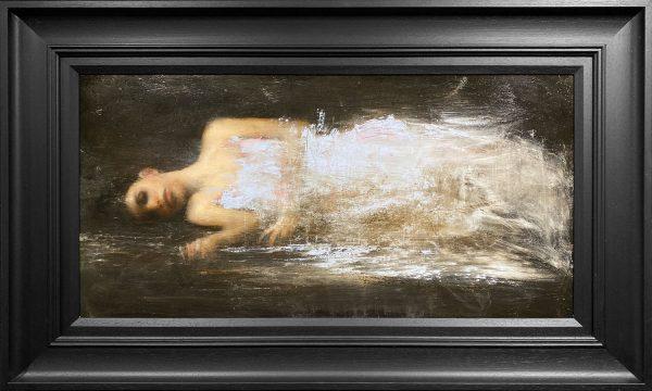 Mark Demsteader Reclining Figure Study Original Oil Painting