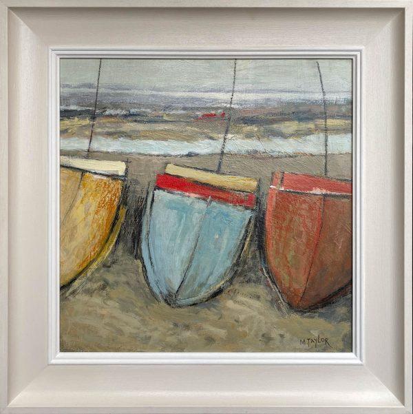 Malcolm Taylor - Three Boats