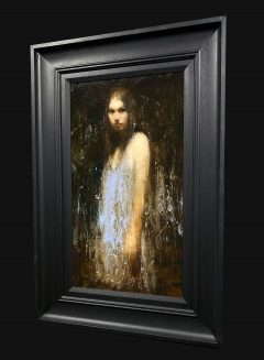 Mark Demsteader Small Figure Study Original Oil Painting