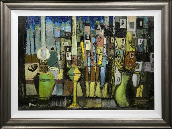 Peter Oliver - View from a Window Original Painting for Sale