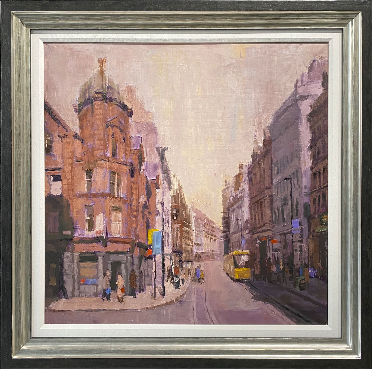 Louis Smith - Looking Down Cross St from Albert Square