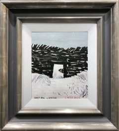 Peter Brook - Sheep Dog Looking