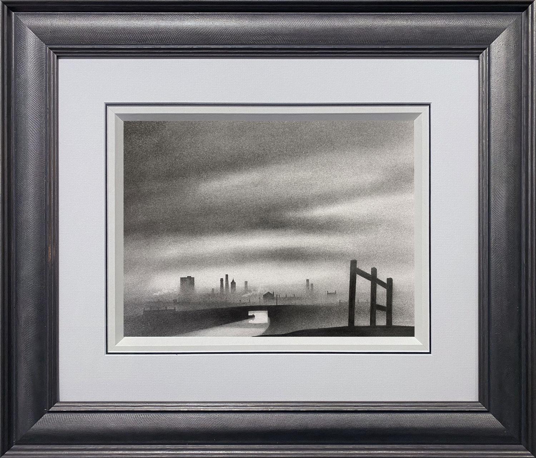 Trevor Grimshaw River & Factories Original Drawing for Sale