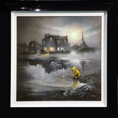 Bob Barker Just us Ducks Signed Limited Edition Print