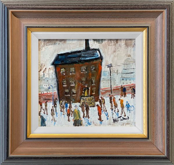 William Ralph Turner The Meeting Original Painting for Sale