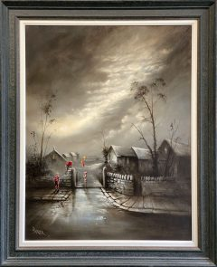 Bob Barker Original Painting for sale Three of the Best