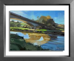 Hester Berry - Light & Shadows on the River Taw