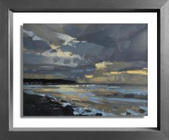 Hester Berry - Stormy Study Westward Ho!Hester Berry - Stormy Study Westward Ho!
