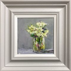 Judith Donaghy Christmas Roses Original Painting