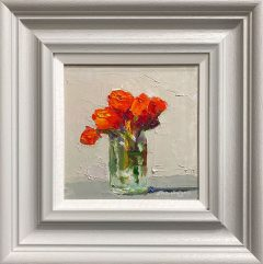 Judith Donaghy Bronze Star Roses Original Painting