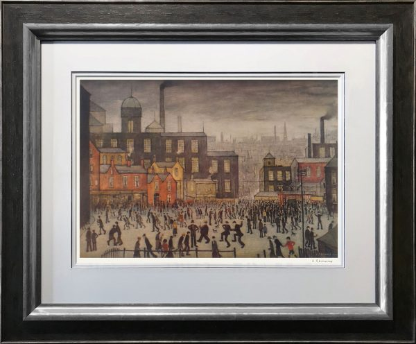L S Lowry Our Town Signed Limited Edition Print