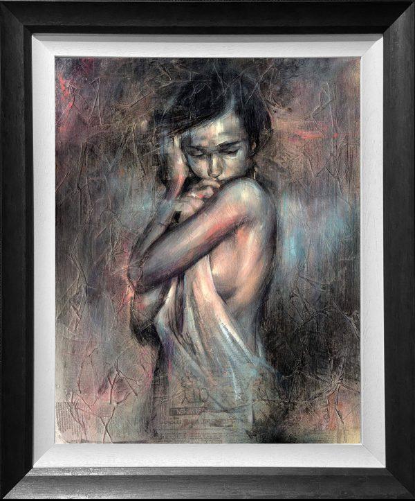 Craig Everett Shy Original Painting for Sale