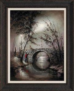 Bob Barker - Once In A Lifetime 'I Love You' Hand Embellished Print
