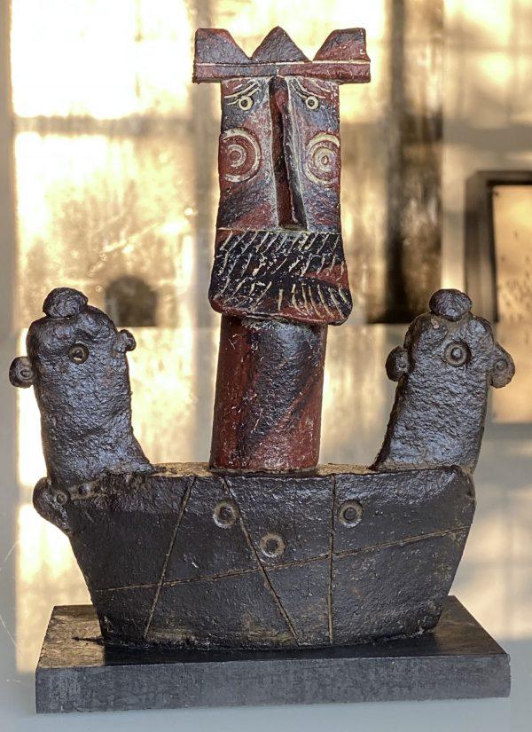 John Maltby - King in Boat