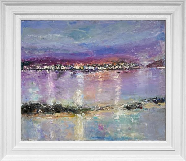 Judith Donaghy Purple Sky in Anglesey