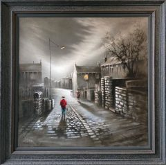 Bob Barker Early Bath Original Painting for sale