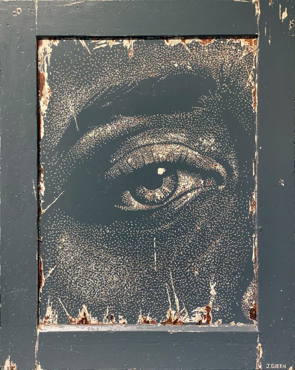 Jamie Green Artist - Grey Door
