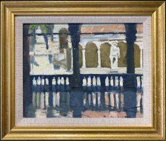 Ken Howard - La Loggia Udine, Italy Original Painting