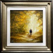 Danny Abrahams Original Painting Autumn Joys