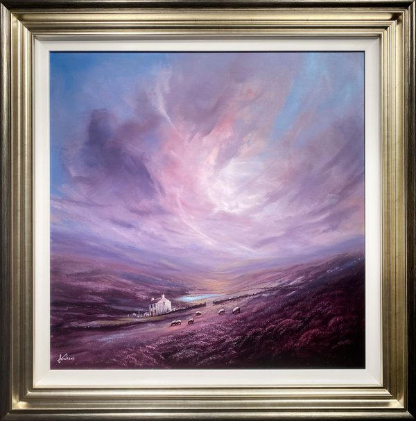 Danny Abrahams Original Painting Daybreak