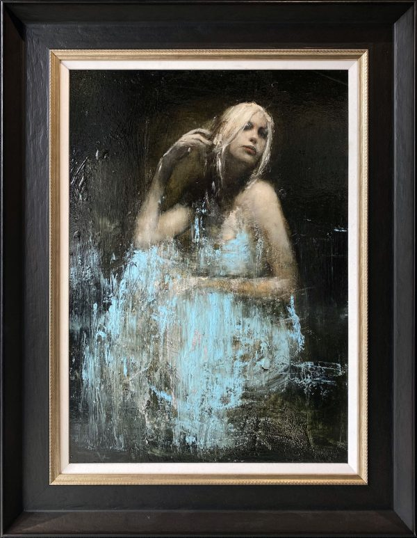 Mark Demsteader Leanne Study 2 Original Oil Painting