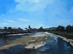Hester Berry - Blue Sky Over River Taw