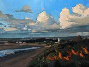 Hester Berry - Sea Buckthorne & Storm Clouds