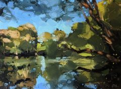 Hester Berry - Tree Reflections