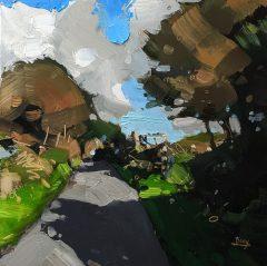 Hester Berry - Autumn Near Watersmeet
