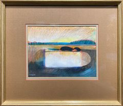 Geoffrey Key - The Lake 1980